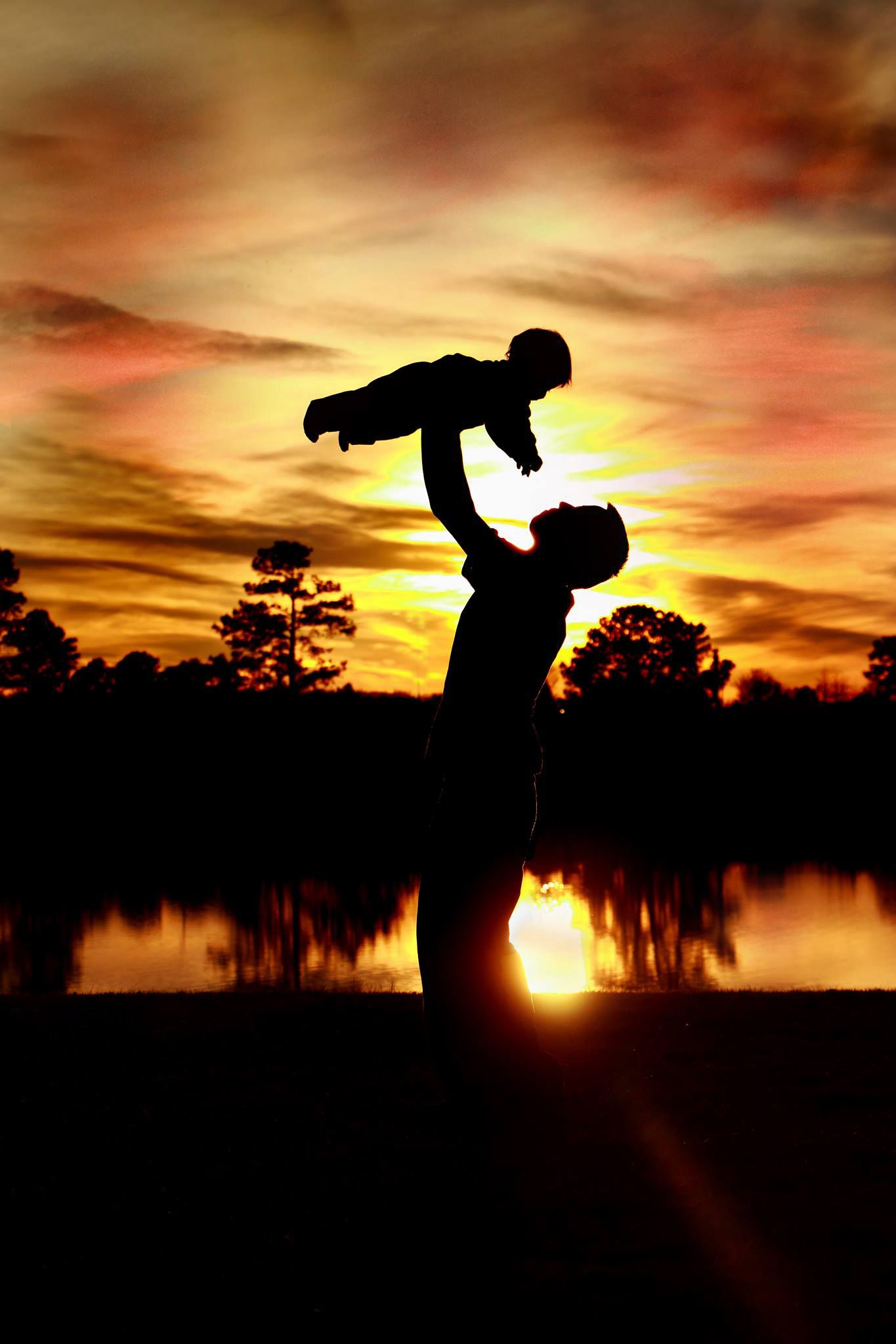 """""""Father and Son"""" by Talia Steinard of Newport News, VA"""