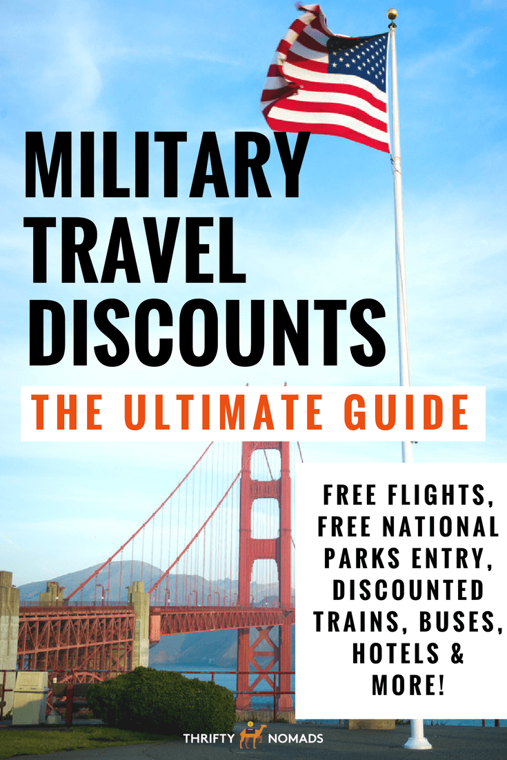 Military Travel Discounts: The Ultimate Guide via @thriftynomads