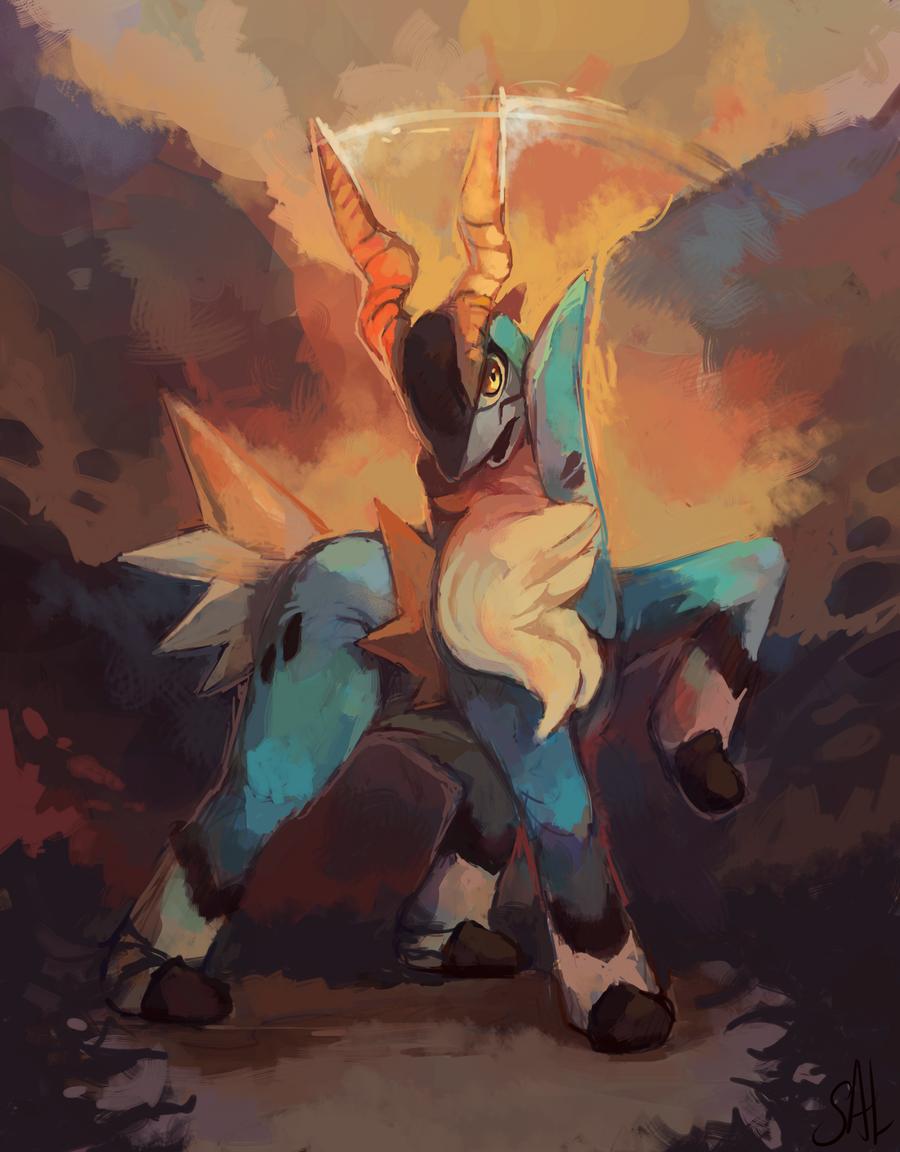 #Pokemon #legendary- cobalion