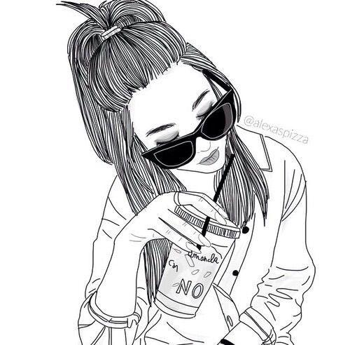 Bem Estilo Tumblr Nao Acham Desenhos Hipster Menina Tumblr