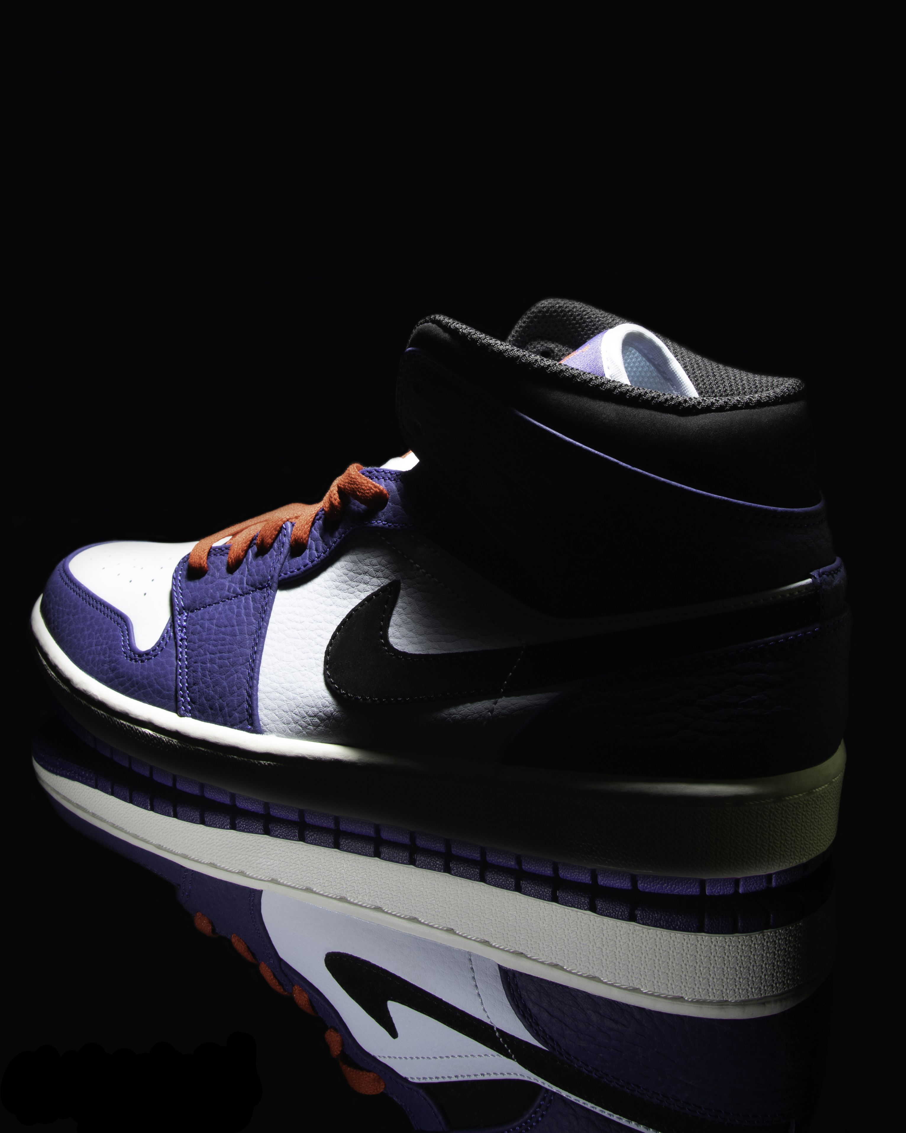 Another Nike Air Jordan 1 with a dark mood and perfect