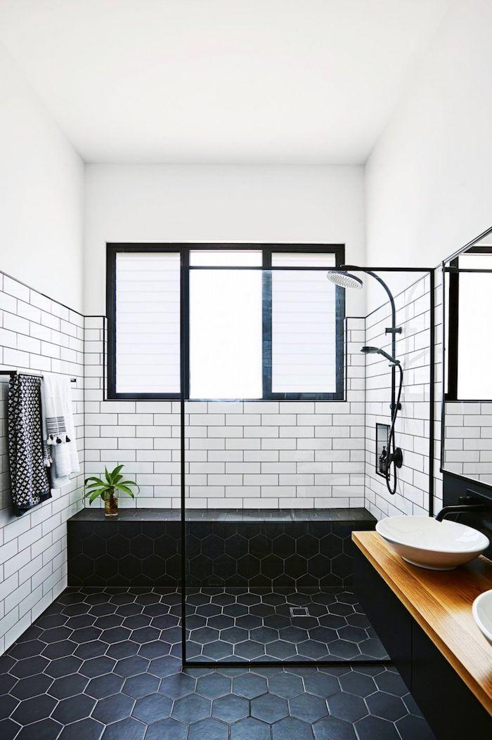Badideen Beliebte Badezimmer Trends Archzine Net In 2020 Mit Bildern Schwarzes Badezimmer