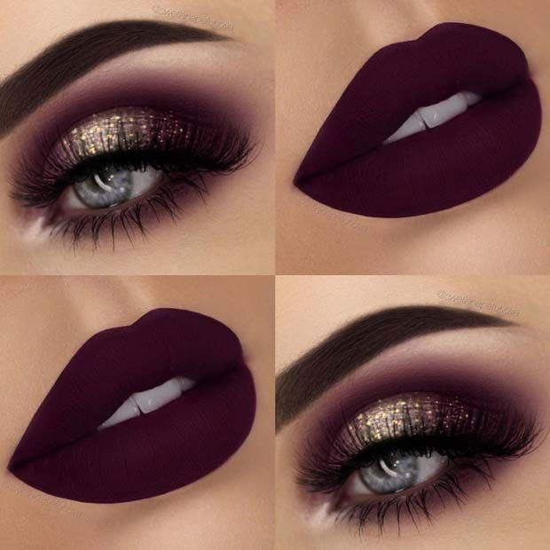 Photo of 43 Glitzy NYE Makeup Ideas | StayGlam