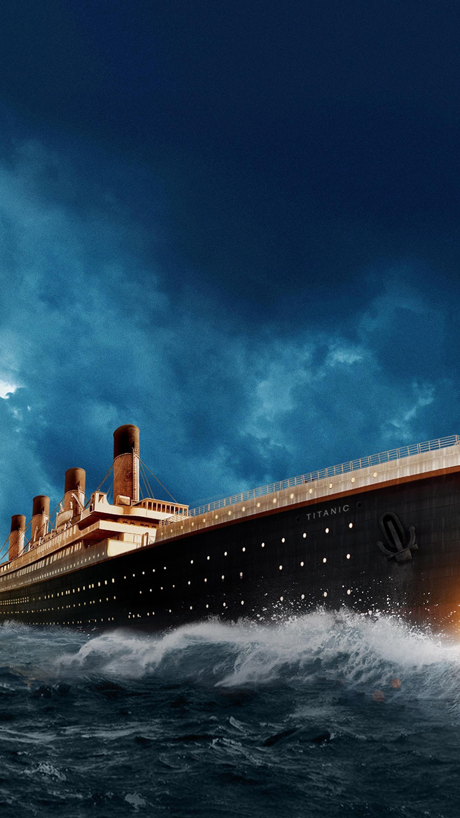 Titanic 1997 Phone Wallpaper Titanic Poster Titanic Ship Rms