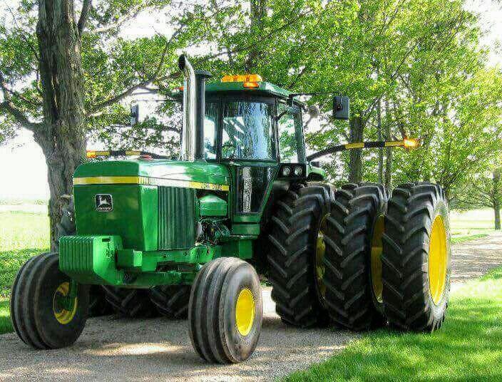John Deere 4840 : John deere tractors pinterest