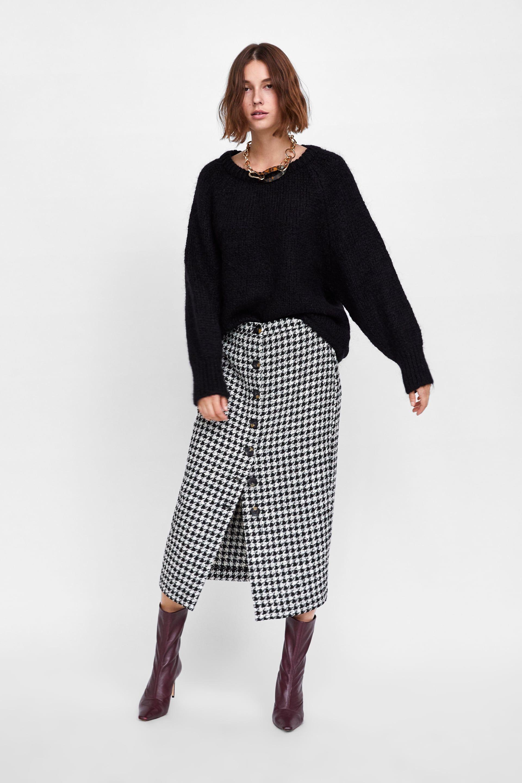 667c98d42b Plaid tube skirt in 2019 | I'll take two of each | Tube skirt, Zara ...