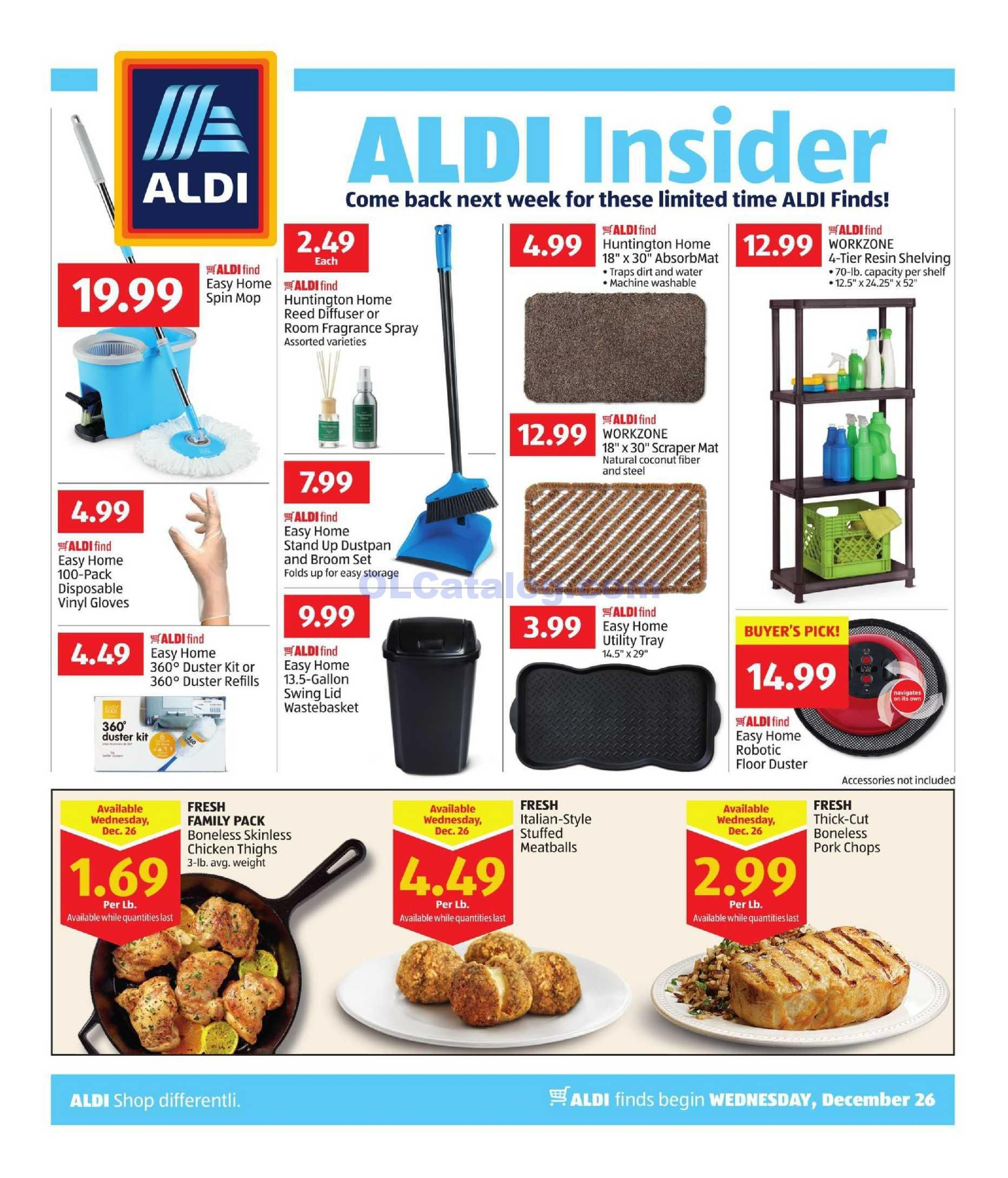 Aldi In Store Ad December 26 2018 January 1 2019 View The Latest Flyer And Weekly Circular Ad For Aldi Here Likewise Aldi Grocery Savings Digital Coupons