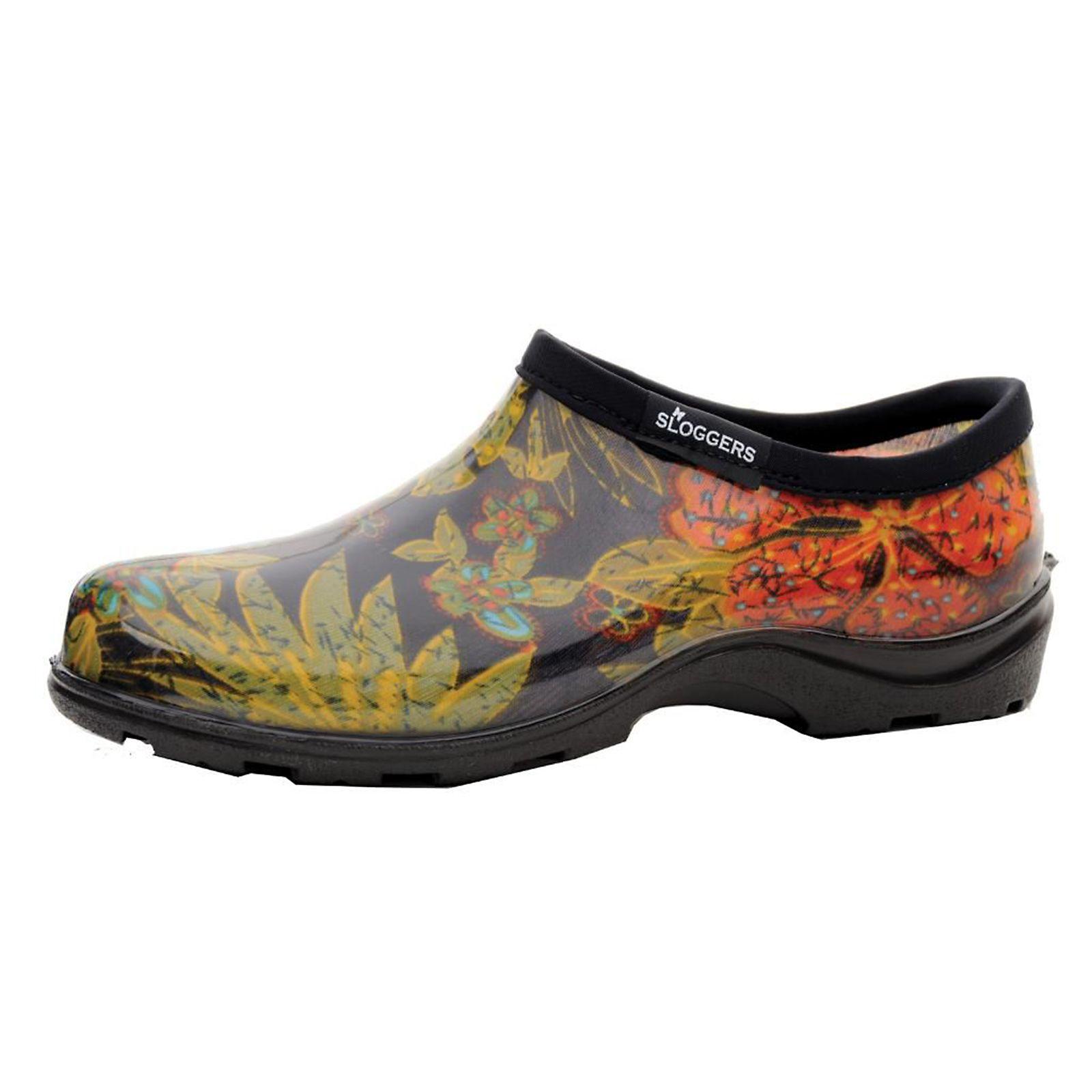 Sloggers Womens Garden Shoe Midsummer Black 091053510134 Great