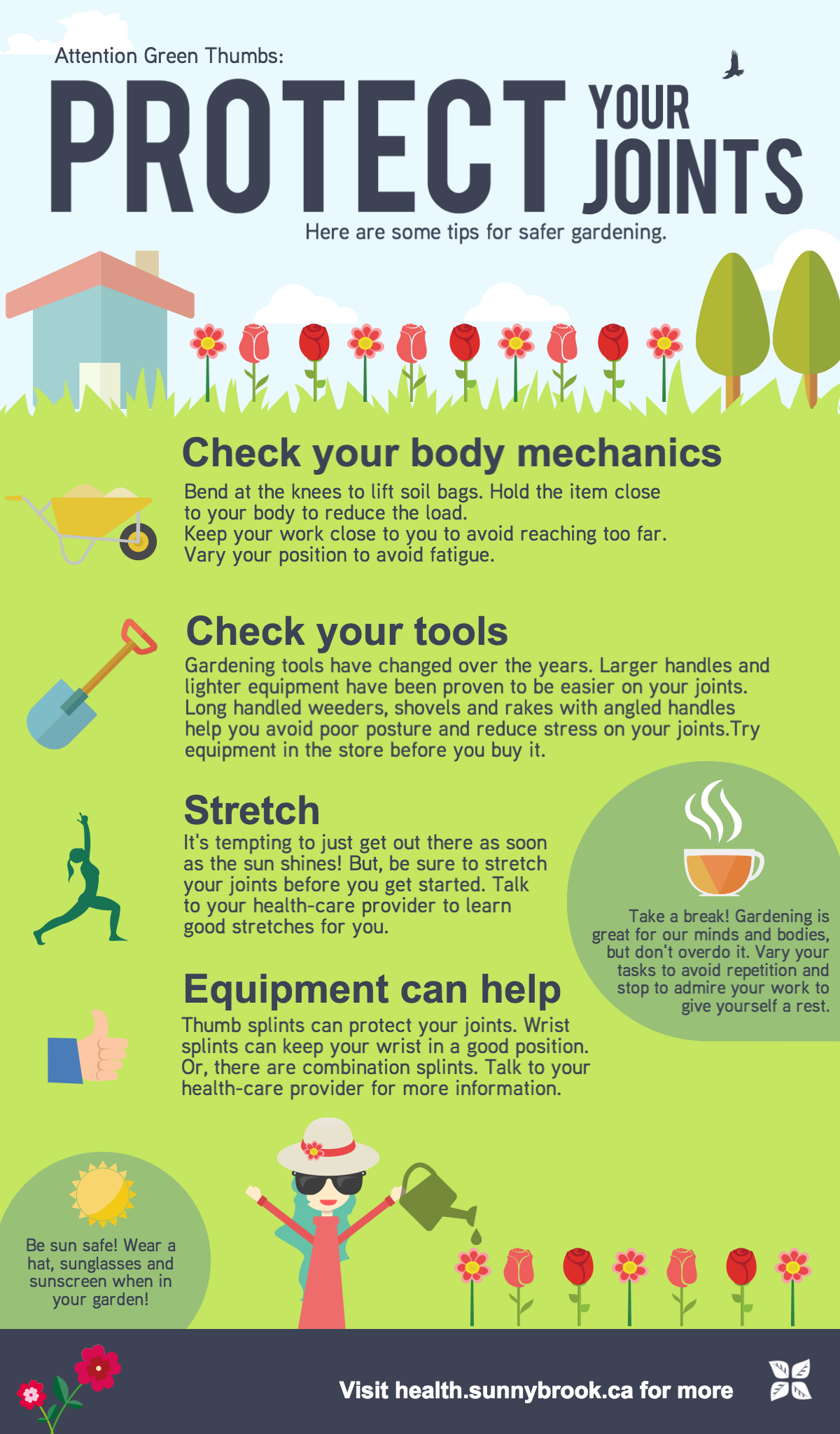 Attention Green Thumbs Protect Your Joints In The Garden Health