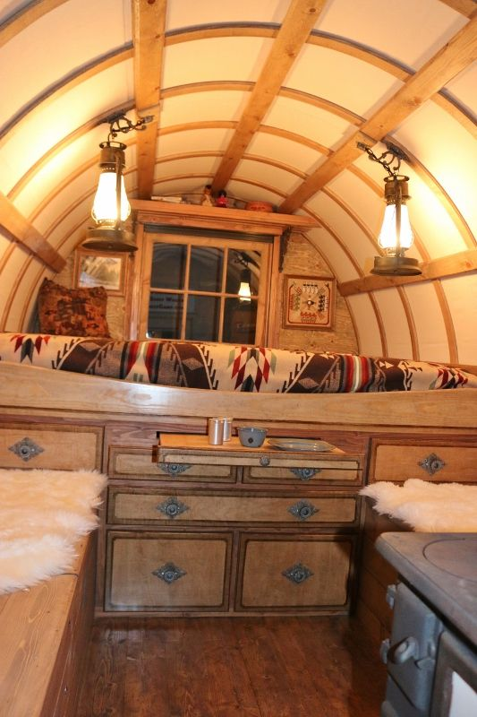 Pin On Gypsy Wagons Caravans Roulettes
