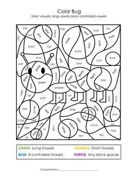 Long Vowels Worksheets | Education.com