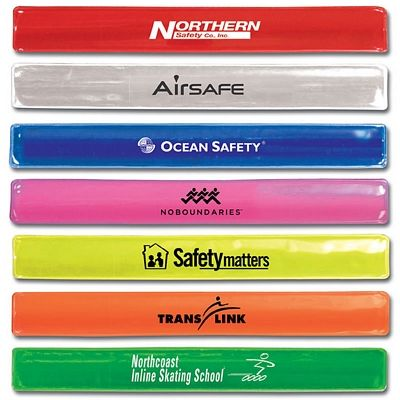 Promotional Reflective Snap Wristband | Customized Wristbands | Promotional Wristbands
