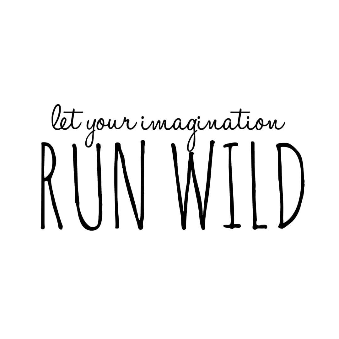RUN WILD instagram imaginaryins