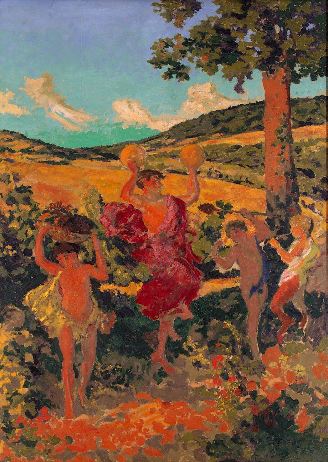 Rural Festival Painting by Roussel Ker Xavier | Oil Painting
