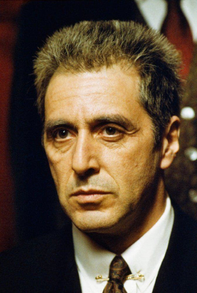 Al Pacino In The Godfather Part Iii 1990 Scarface Movie