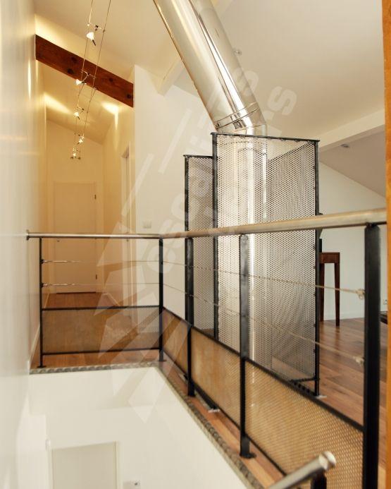 dt38 garde corps en protection vide tr mie conforme normes nf p01 012 option main courante en. Black Bedroom Furniture Sets. Home Design Ideas