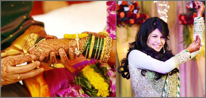 Chura Is The Ceremony Where Brides Friends Get Bangles Generally Bride