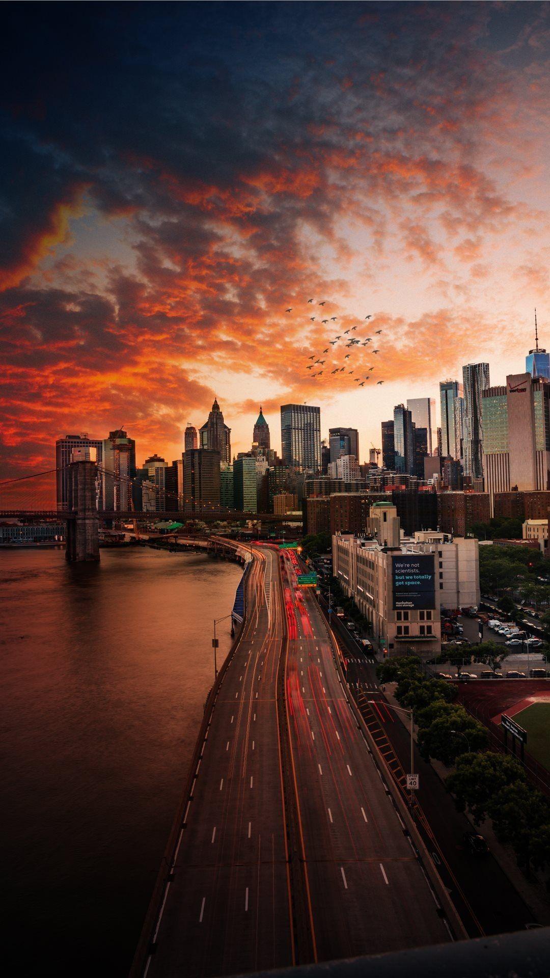 Luxury City Sunrise Wallpaper City Wallpaper New York Wallpaper Iphone Wallpaper Landscape