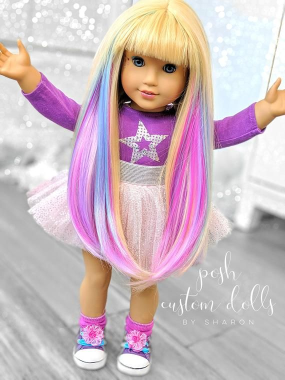 Custom American Girl Doll OOAK EXAMPLE ONLY - Made to Order #americandolls