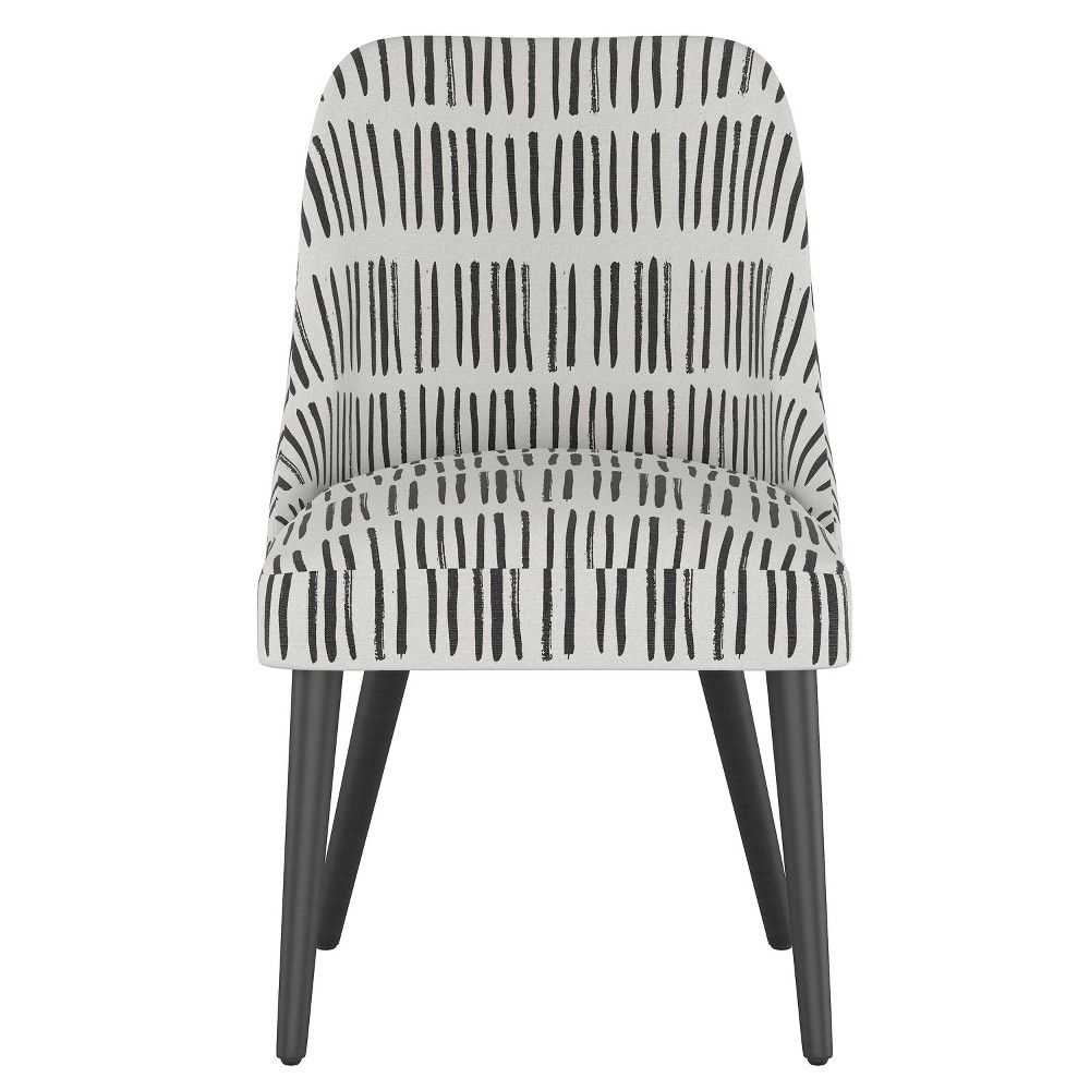 Admirable Geller Modern Dining Chair White With Black Legs Project Caraccident5 Cool Chair Designs And Ideas Caraccident5Info