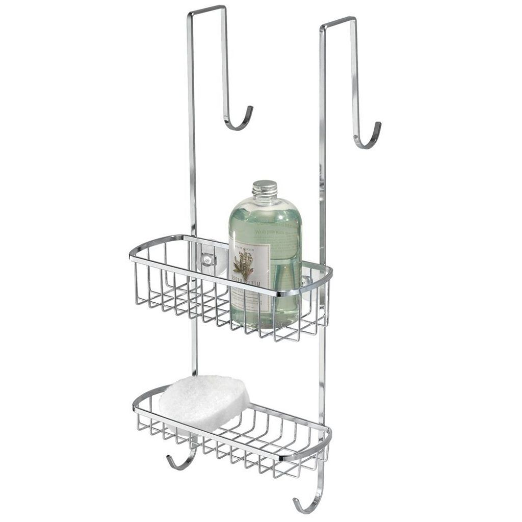 Small Hook Over Shower Caddybathroom decorations small shower caddy ...
