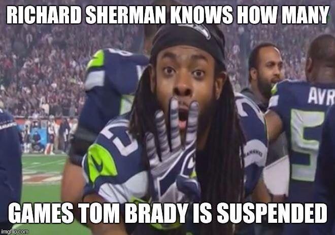 Richard Sherman #25 knows... Seattle Seahawks