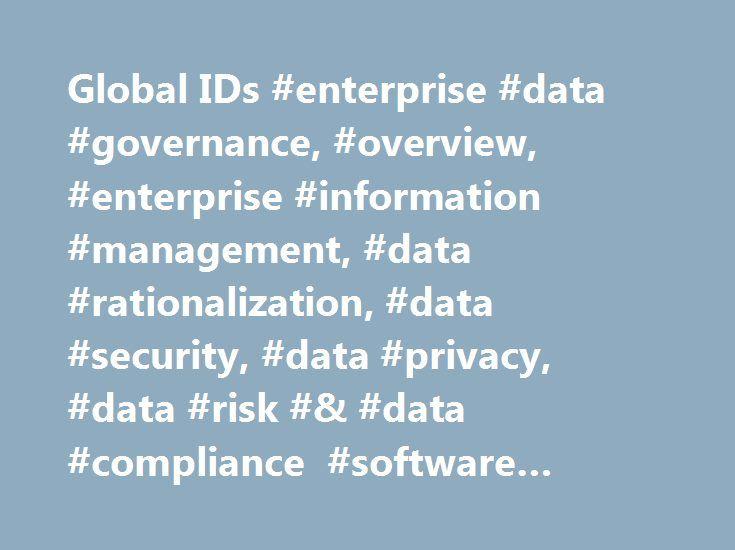 Global IDs #enterprise #data #governance, #overview, #enterprise
