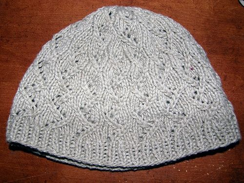 Free pattern knitted hat