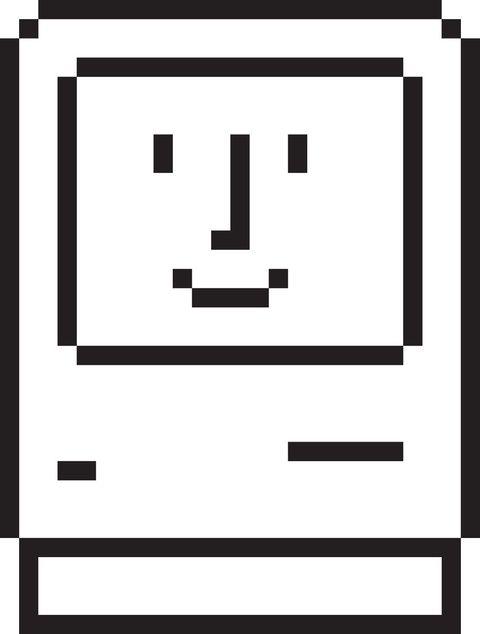 happy mac icon by