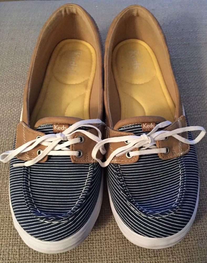 KEDS Womens Boat Shoes Size 11 Blue