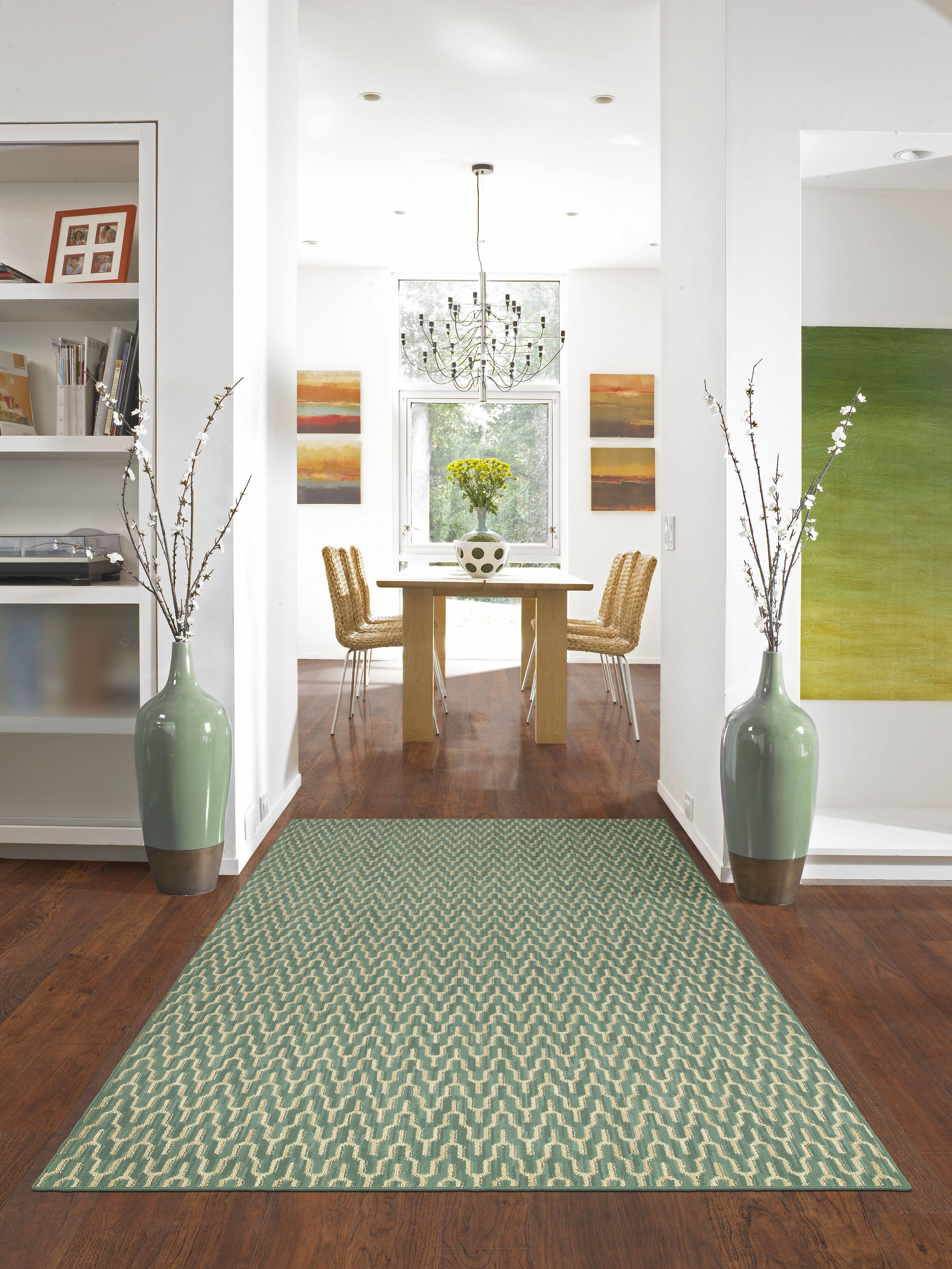 Hgtv Home Area Rug By Shaw Floors In Style Nirvana Color Teal Gorgeous