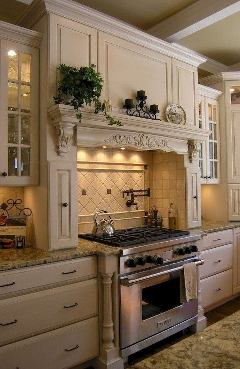 70 Remarkable French Country Kitchen Design Ideas Page 28 Of 72 In 2020 Country Kitchen Cabinets French Country Kitchens French Country Kitchen