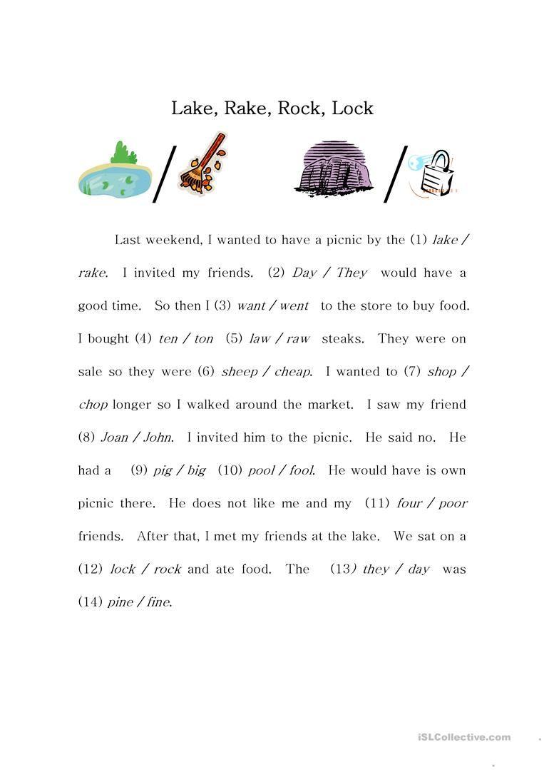 Phoneme Story Pronunciation Practice Worksheet Free Esl Printable Worksheets Made By Teachers Tricky Words Pronunciation Phonemes [ 1079 x 763 Pixel ]