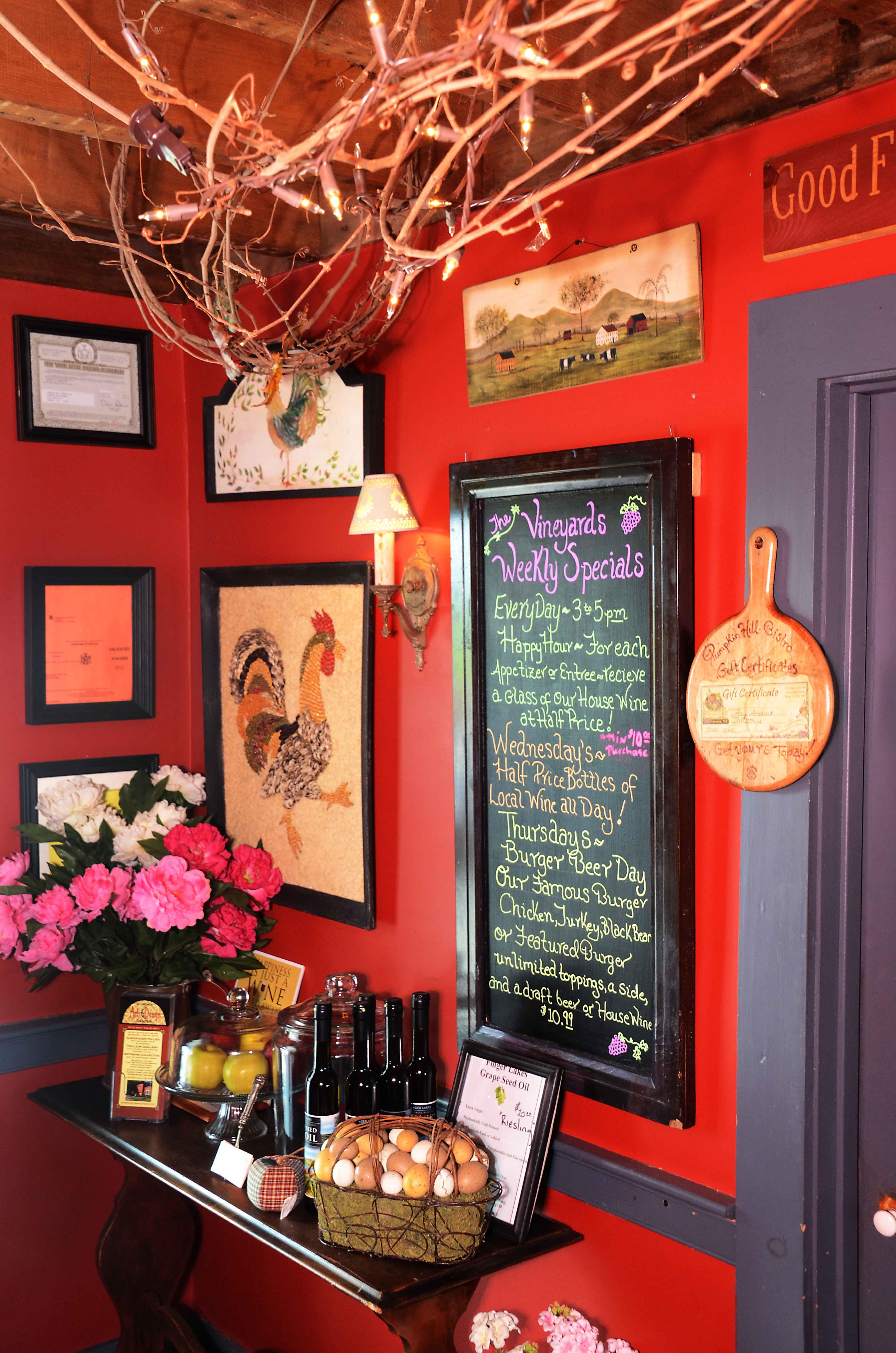 Pumpkin Hill Bistro Aurora Ny Farm Fresh Recipes Beer Day Locavore
