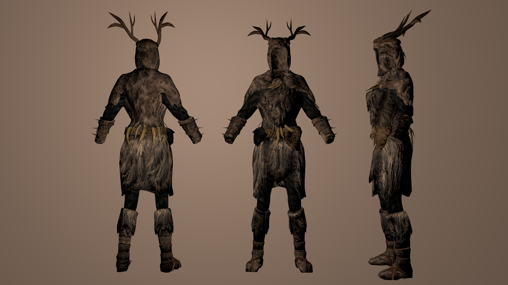 Forsworn Armor Redux at Skyrim Nexus - mods and community
