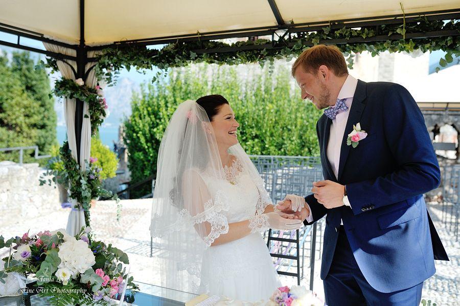 beautiful weddng in Garda lake