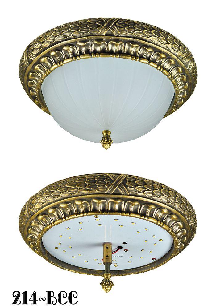 Vintage hardware lighting victorian or edwardian close ceiling vintage hardware lighting victorian or edwardian close ceiling light flush mount 15w led bowl 214 bcc aloadofball Images