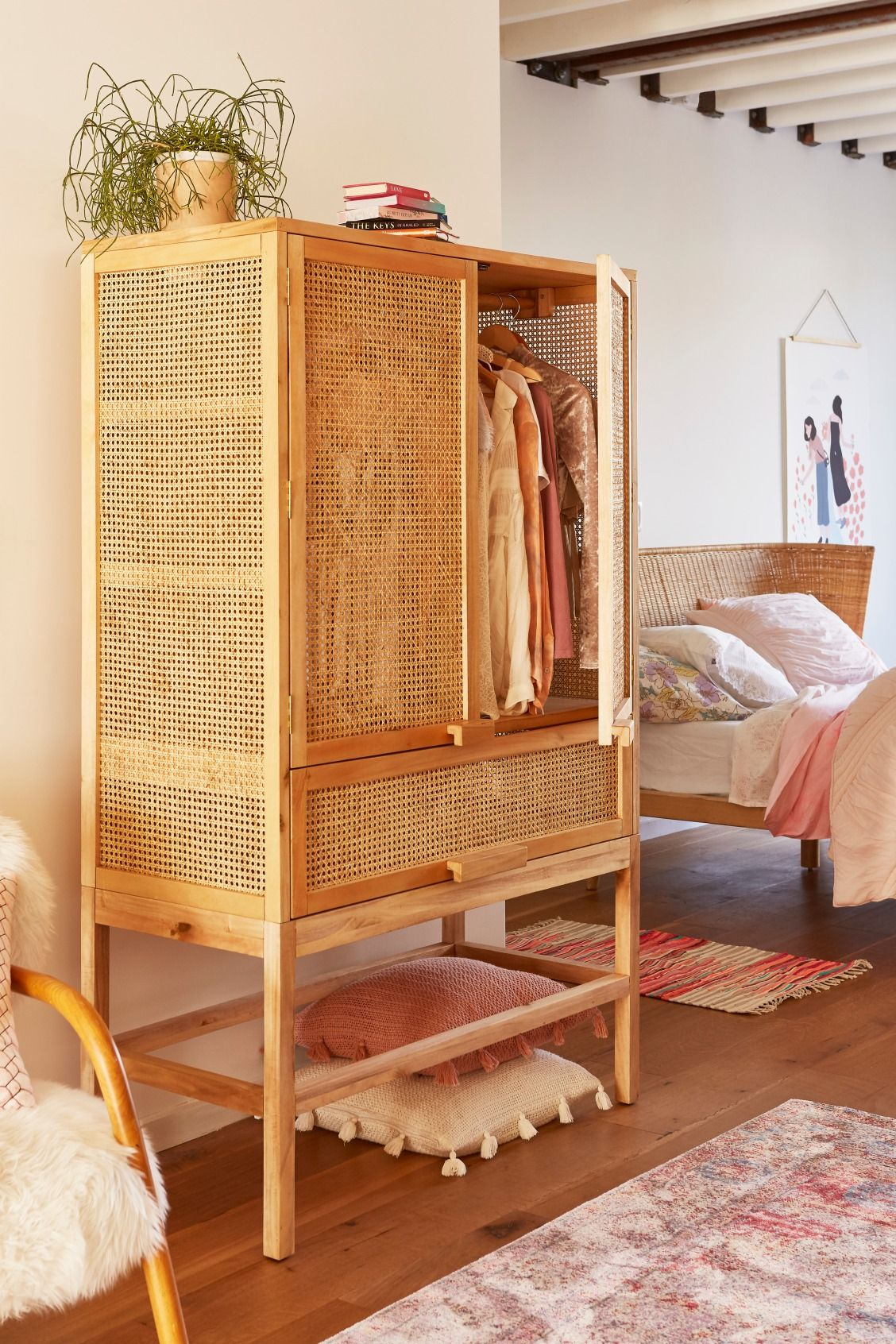style in you a beachy furniture create this bamboo relaxed with bedroom your pin can cabinet home
