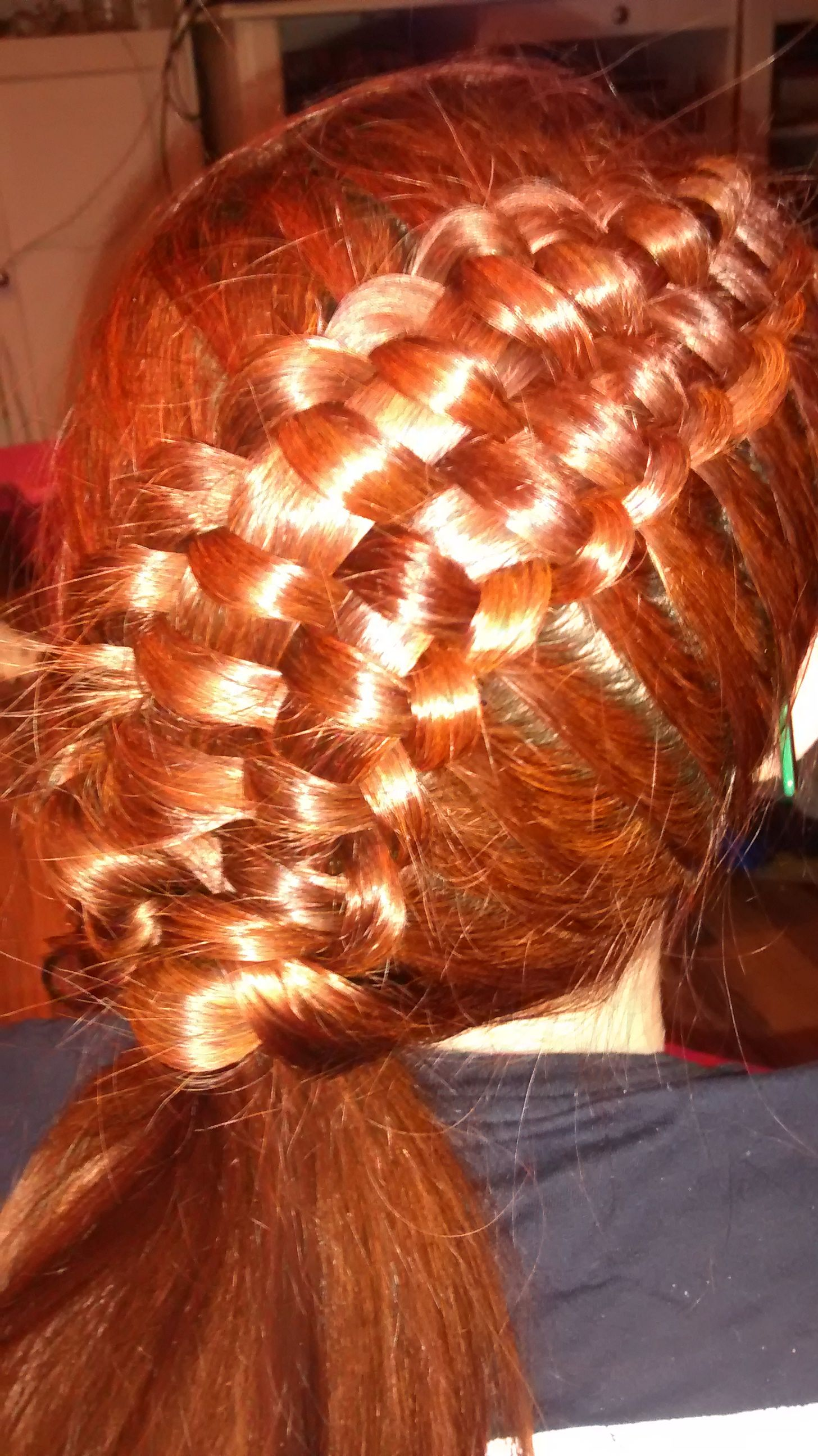 And finally managed to do the Zipper braid from Cute Girls
