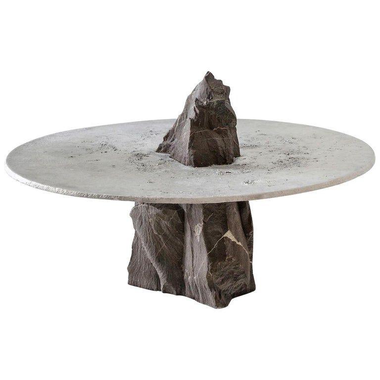 slate stone coffee table