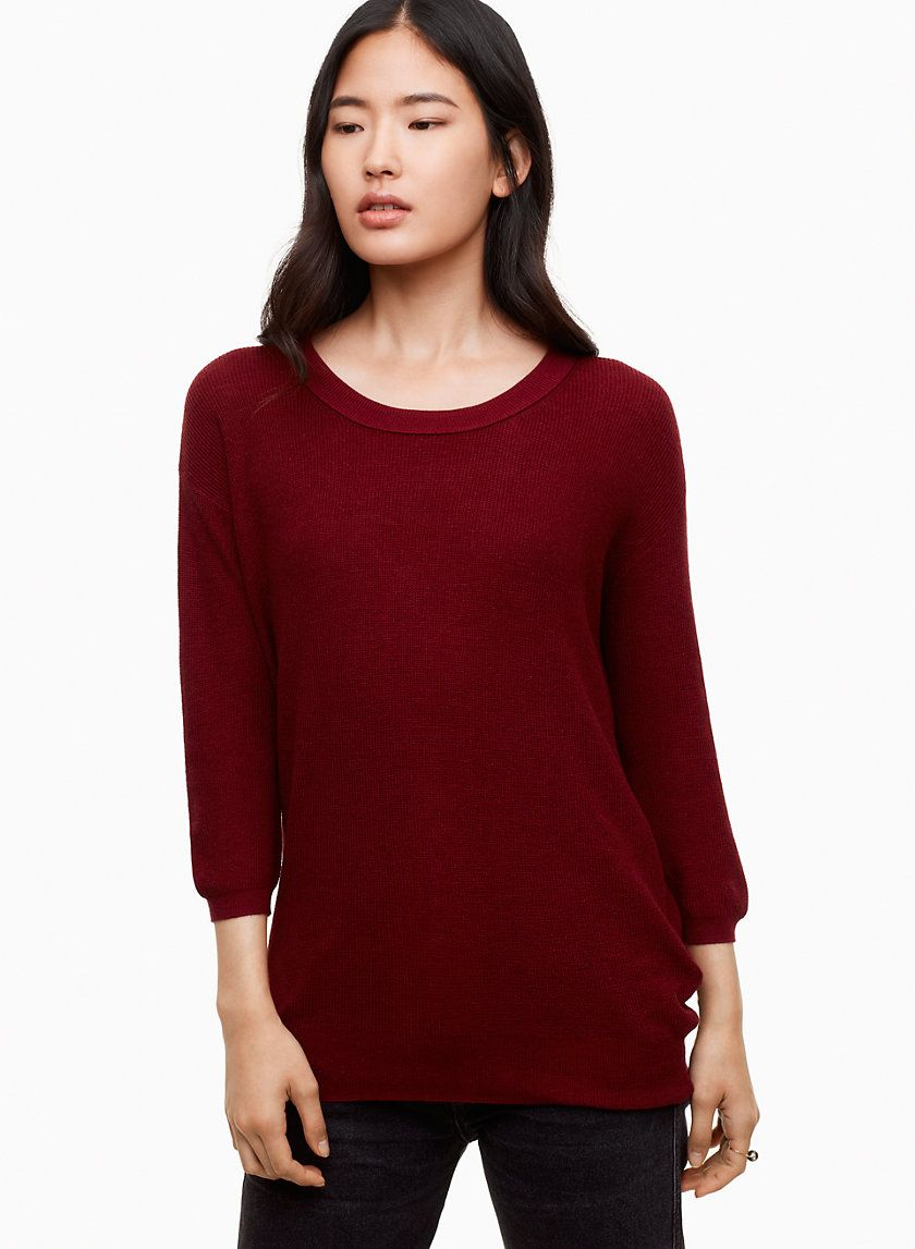 95317c3e278bf4 Balzac sweater | Style | Sweaters, Pullover, Silk
