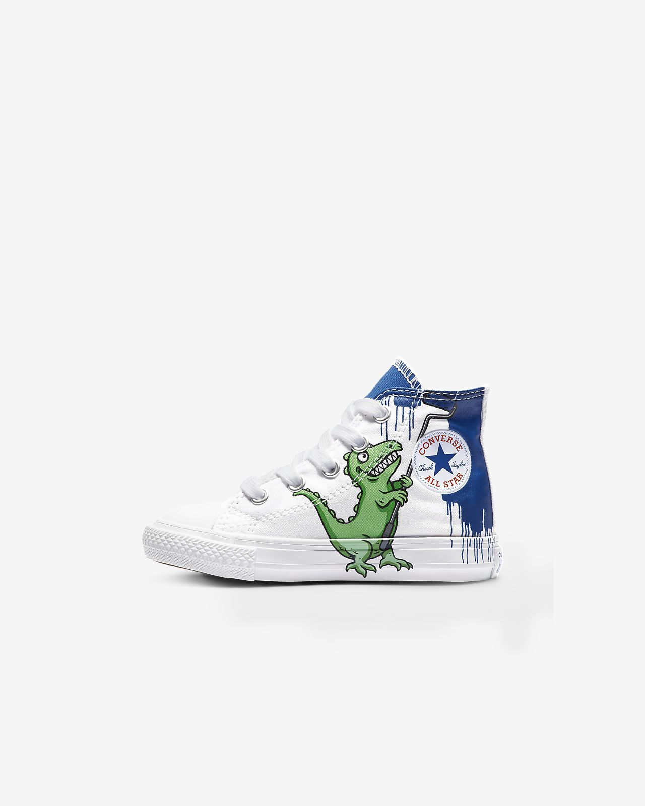 e902deda1d0575 Converse Chuck Taylor All Star Dinoverse Toddler Shoe