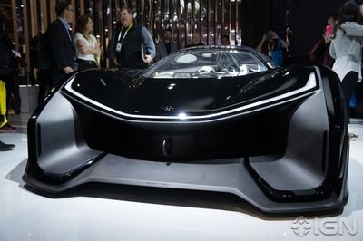 See this Tesla competitor's crazy concept electric car, the FFZero1.