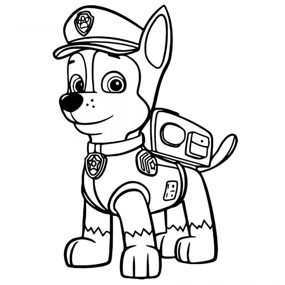 Imagenes Para Colorear Patrulla Canina Paw Patrol Coloring Paw