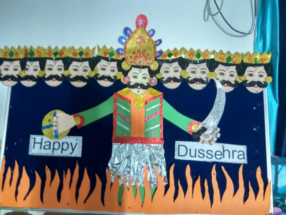 Pin by sharma on Dussehra school board Crafts, New