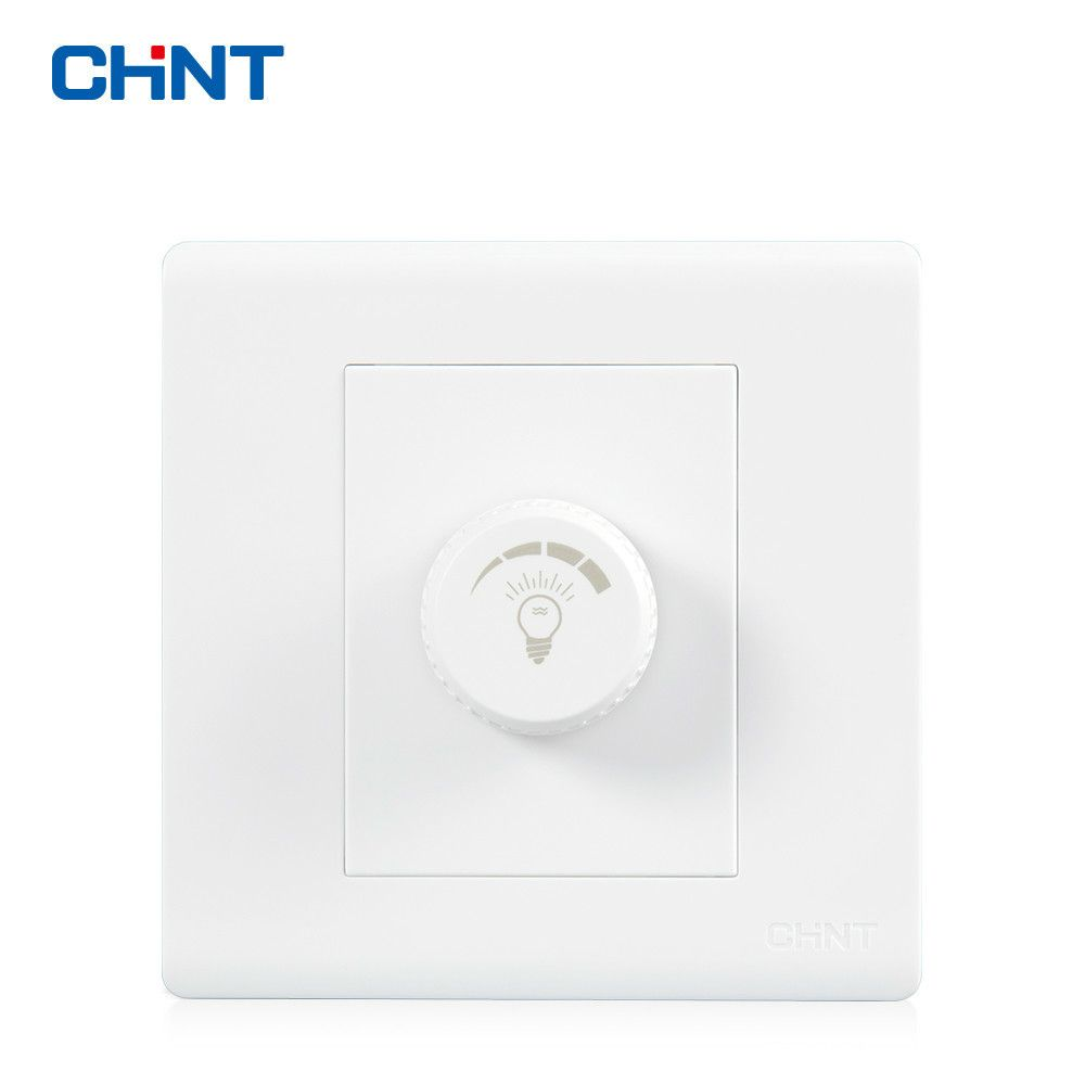 CHINT Electric NEW7D 86 Type Wall Switch Socket Panel Dimming Switch ...