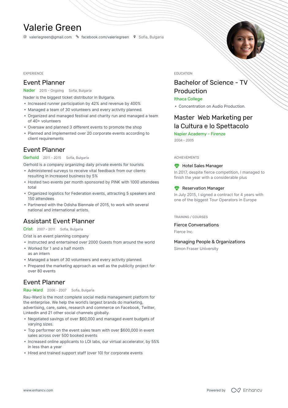 Top Event Planner Resume Examples & Samples for 2020