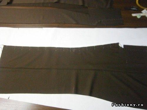 Сам себе кутюрье МК Технология пошива женских классических брюк Часть первая