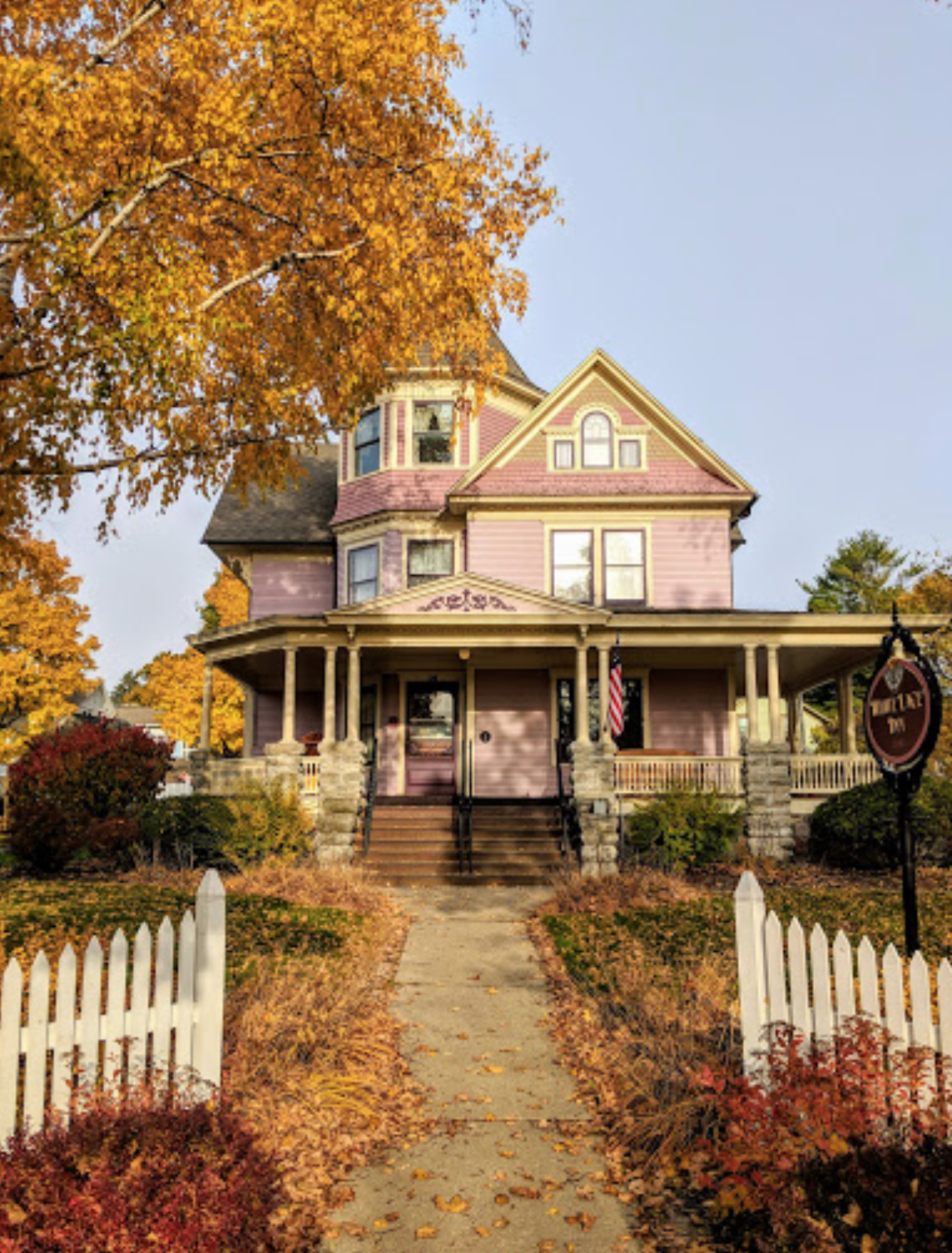 Fall In Door County Door County Sturgeon Bay House Styles
