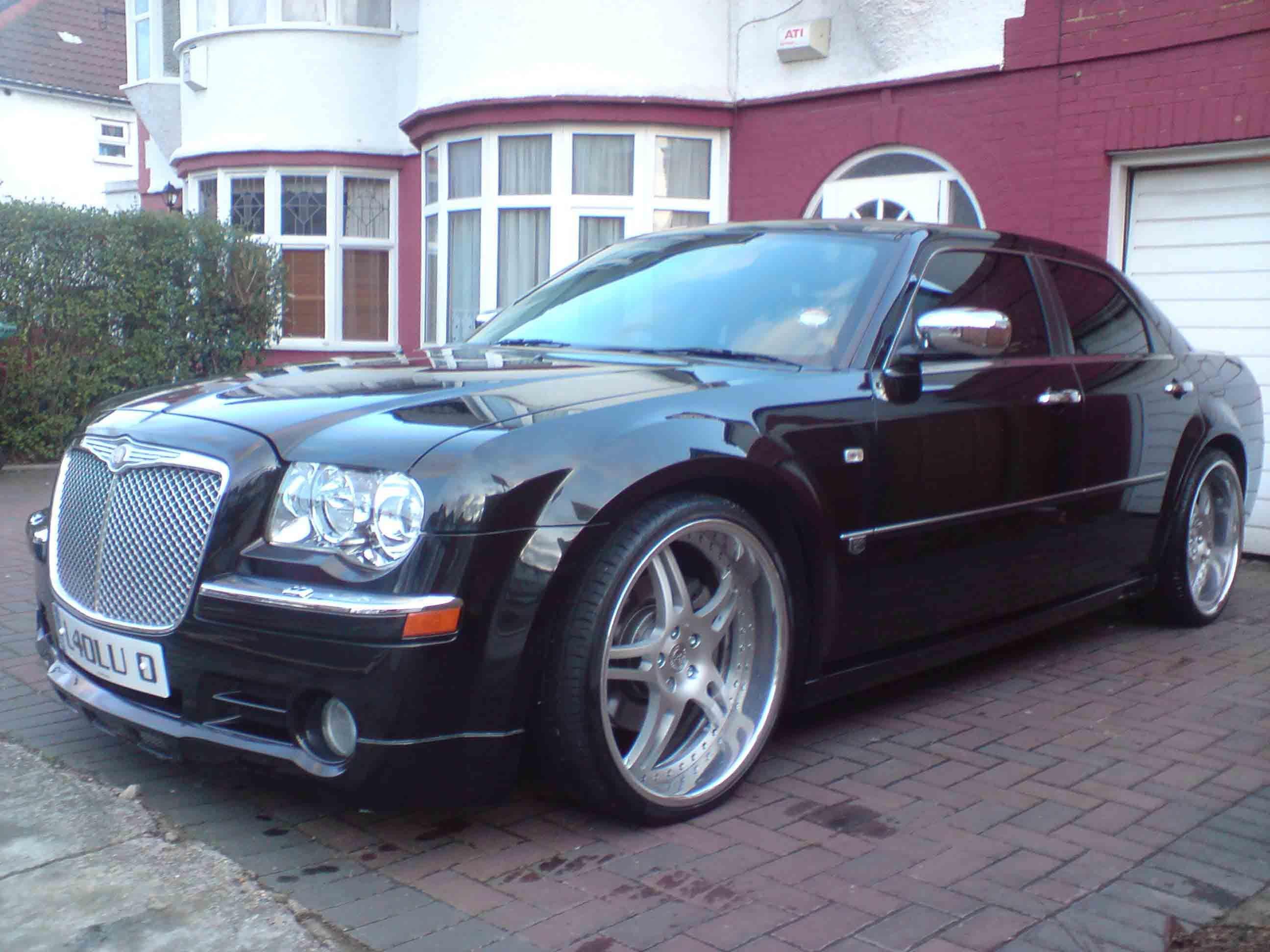 Chrysler 300c iforged classics brushed aluminium centre with polished lip split 5 star wheels